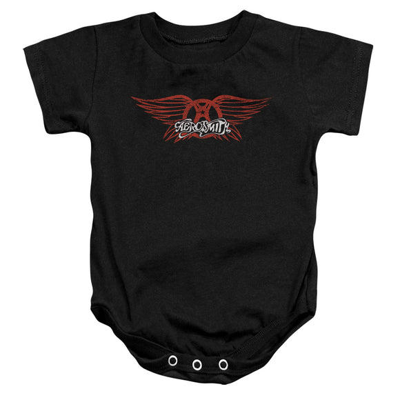 Aerosmith - Winged Logo Infant Snapsuit