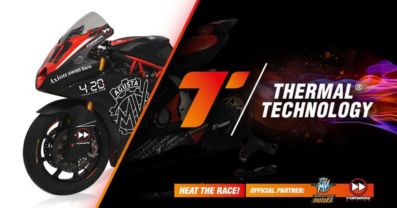 Thermal Technology official partner to Mv Agusta Moto2 in 2019