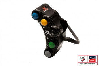 CNC Racing LEFT HANDLEBAR SWITCH PRAMAC RACING LIM. ED