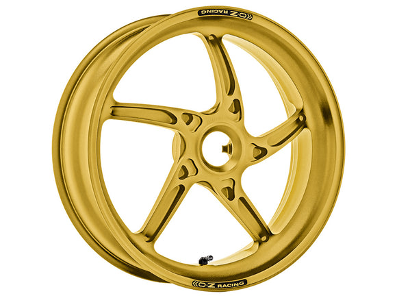 OZ Racing Piega R rear wheel mono sided gold