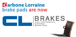 Carbon Lorraine brake pads are now CL Brakes Banner