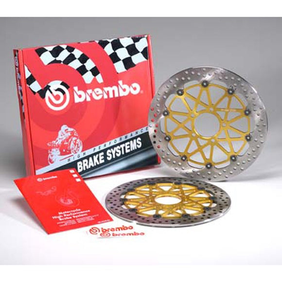 Brembo HPK Front Brake Discs - The Brake King