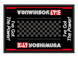 Yoshimura Racing Floor Mat - The Brake King