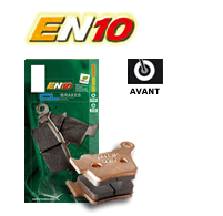 Husqvarna Brake Pads - EN10 - The Brake King