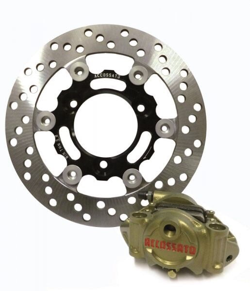 Accossato Moto2 CNC Caliper & Disc Set