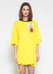 NoHo T-shirt Dress (Gen-Z Yellow) - Saint York