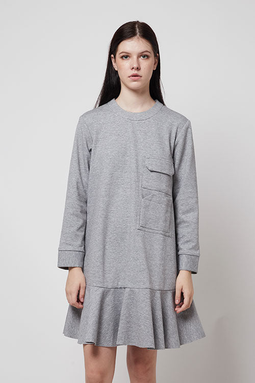 Gramercy Dress - Heathered Grey