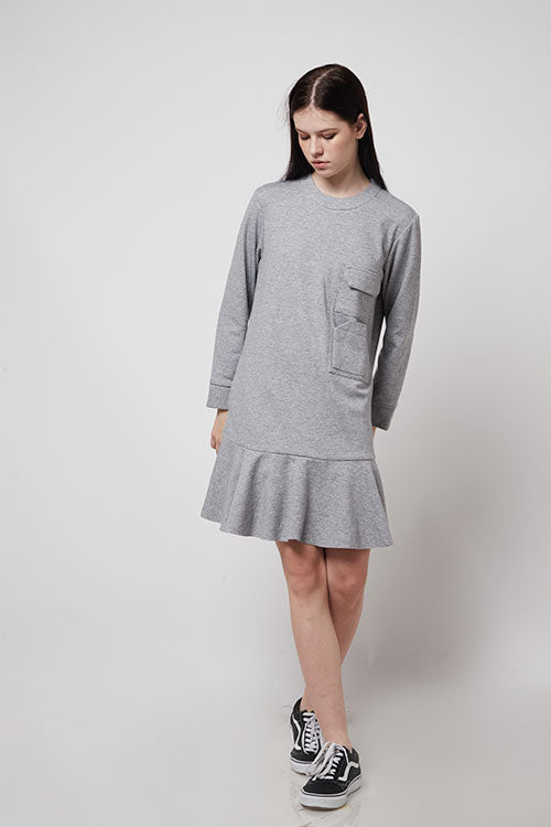 Gramercy Dress - Heathered Grey - Saint York