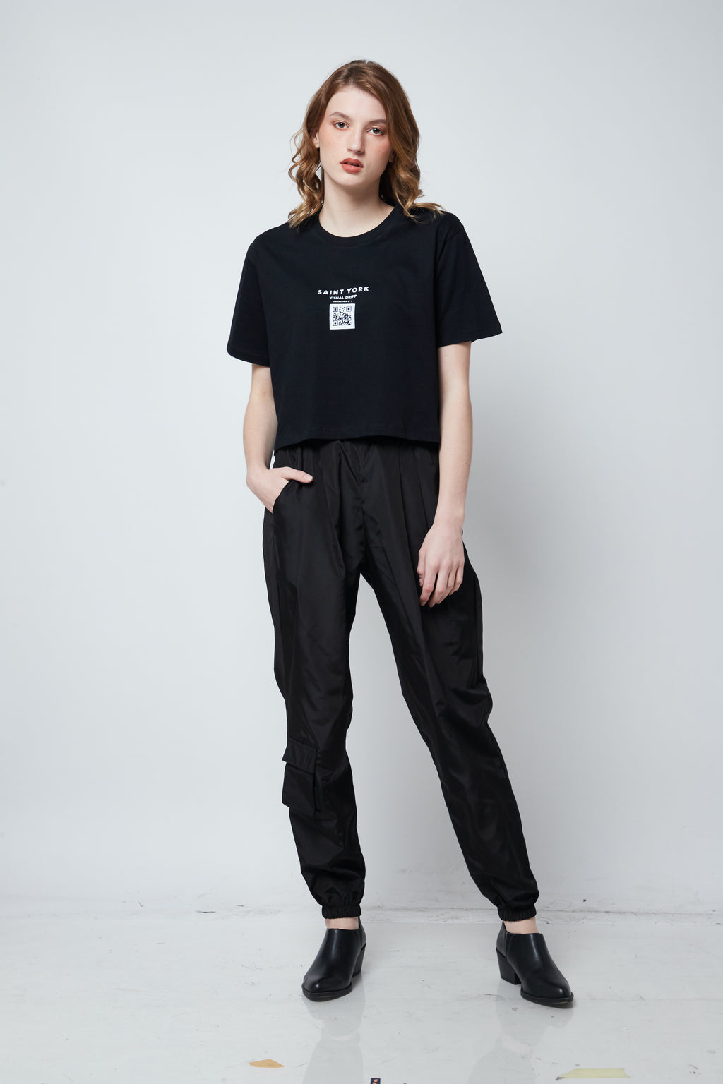 Hyde Cropped T-shirt - Saint York