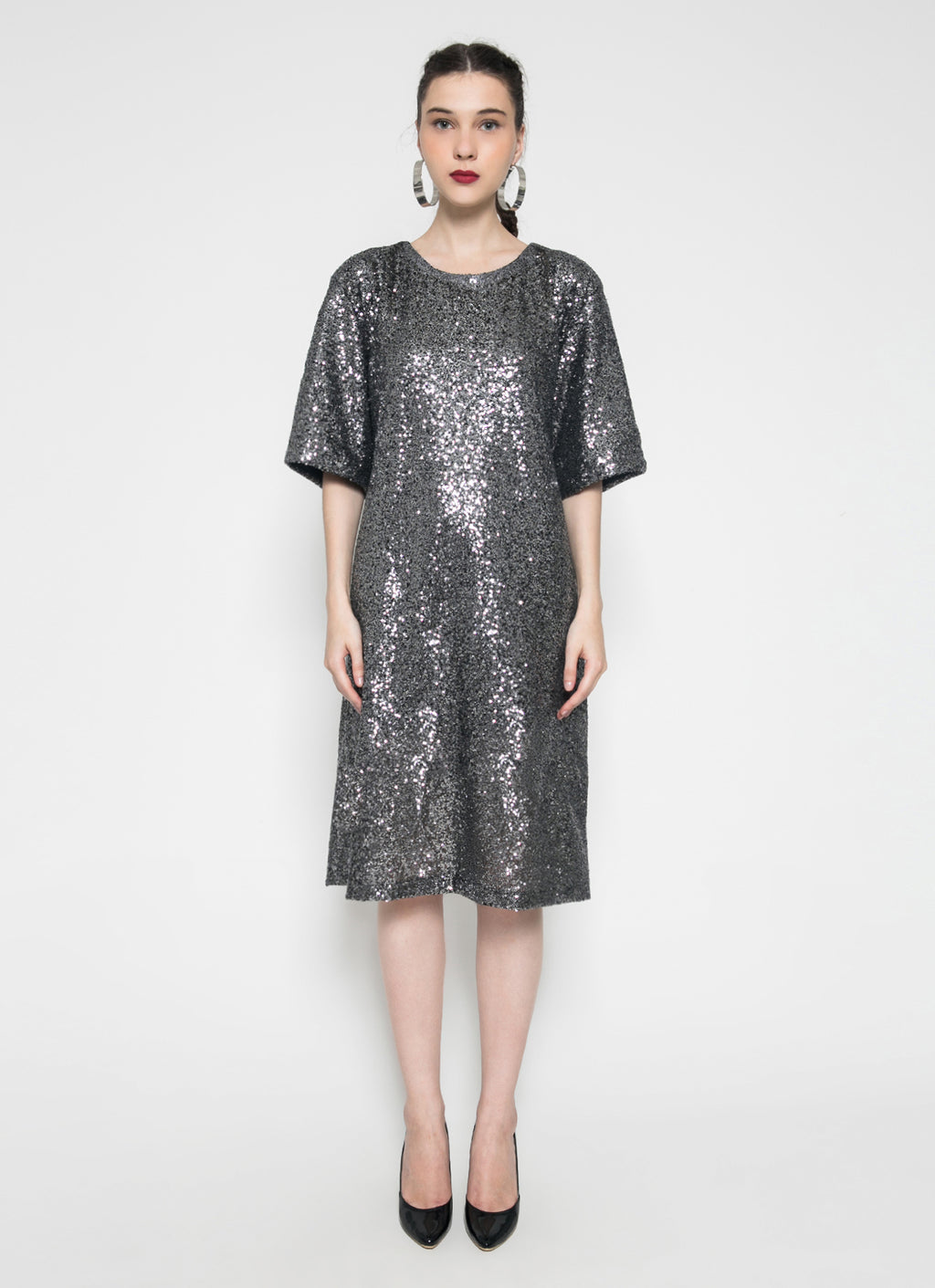 Park Ave. Dress (Gun Metal) - Saint York