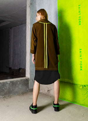 Valencia Reversible Jacket (Green) - Saint York