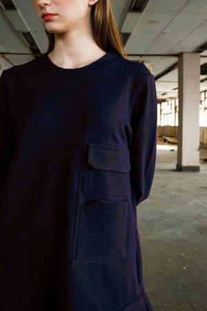 Gramercy Dress - Navy Blue - Saint York