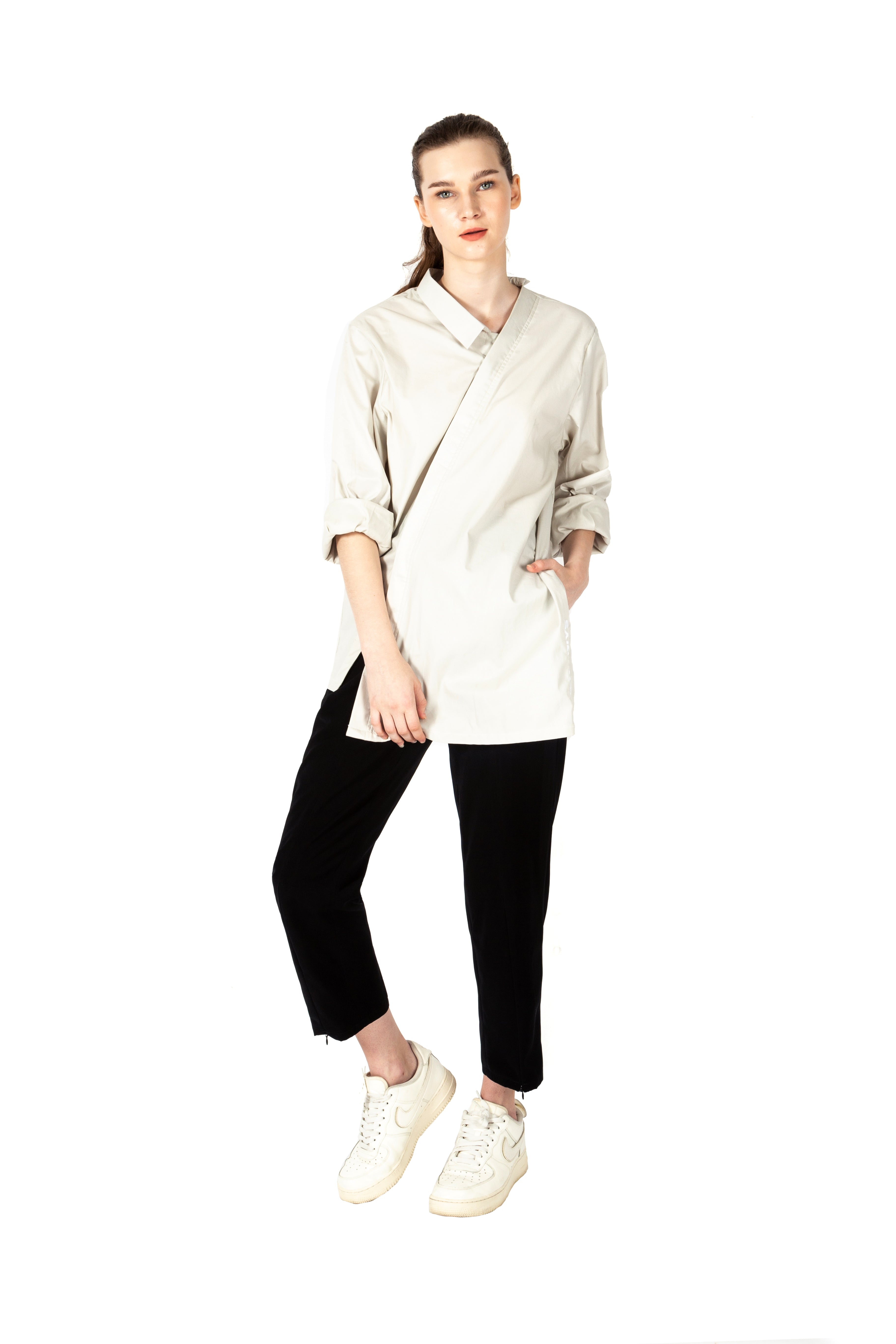 Davis Asymmetrical Shirt
