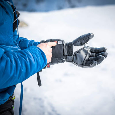 Heated gloves by LENZ