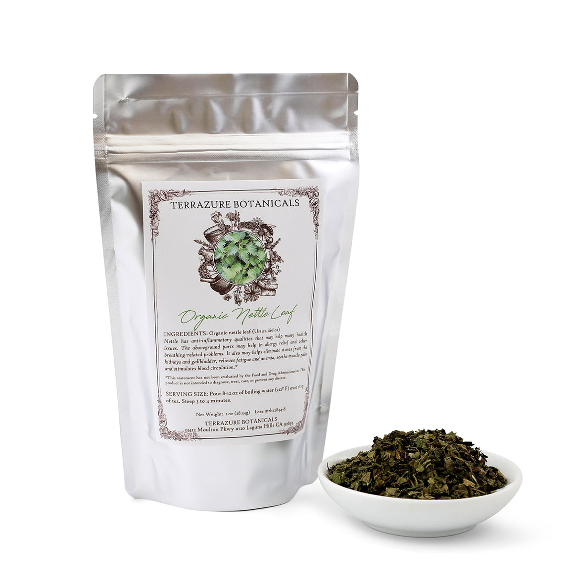 NETTLE LEAF Organic Bulk Herbal Tea