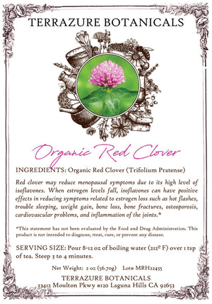 RED CLOVER Organic Bulk Herbal Tea