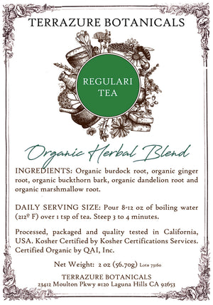 REGULARITEA Organic Bulk Herbal Blend