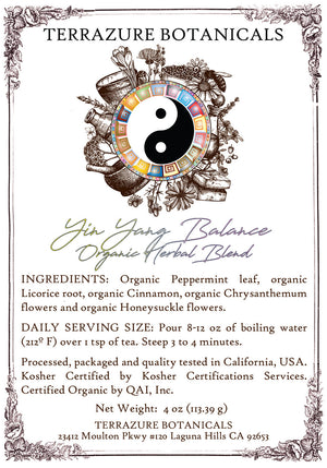 YIN YANG BALANCE Organic Herbal Blend