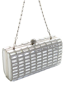 Rhinestone Evening Bag/Clutch, 2 Colors - Thompsons Vintage Treasures