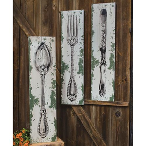 Distressed Cutlery Wall Art, Wall Art, Thompsons Vintage Treasures Thompsons Vintage Treasures
