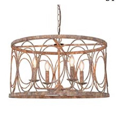 Contemporary Round Chandelier - Thompsons Vintage Treasures