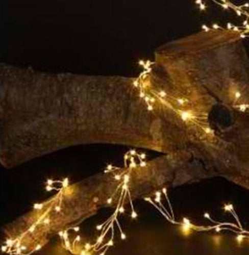 Extra Long Strand Of LED Cluster Lights - Thompsons Vintage Treasures