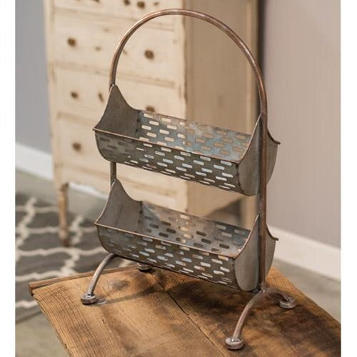 Two-Tier Olive Bucket Organizer