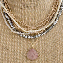 Load image into Gallery viewer, Rose Gold Layered Necklace - Thompsons Vintage Treasures