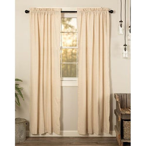 Simple Life Natural Curtain Panels
