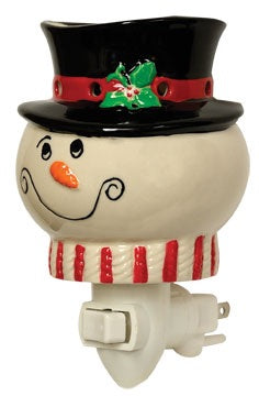 Snowman Wax Melter - Thompsons Vintage Treasures