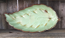 Load image into Gallery viewer, Antique Frankoma Pottery Leaf Platter - Thompsons Vintage Treasures