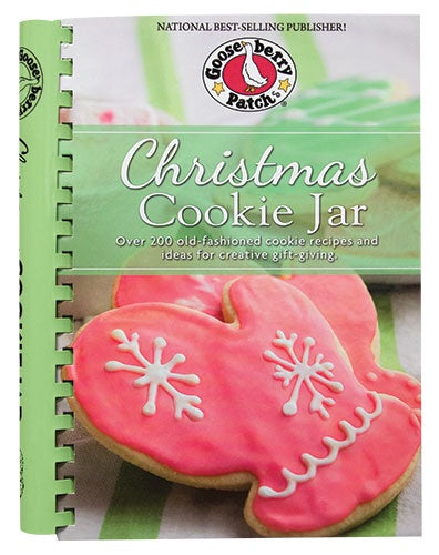 Christmas Cookie Jar Cookbook - Thompsons Vintage Treasures