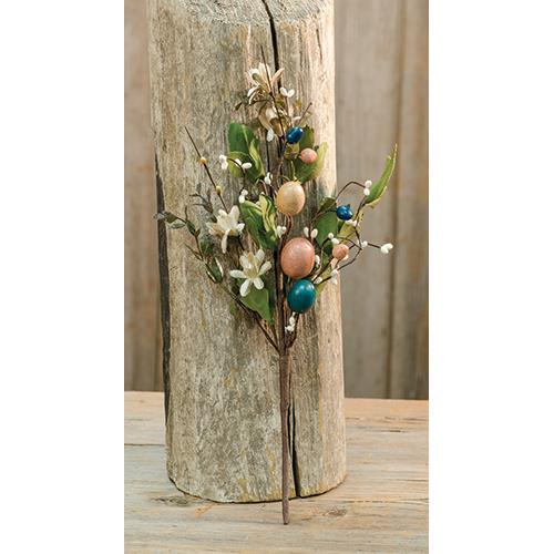 Country Easter Spray, Holiday Decor, Thompsons Vintage Treasures Thompsons Vintage Treasures