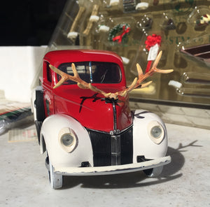 Antique Ford Collectible Christmas Truck - Thompsons Vintage Treasures