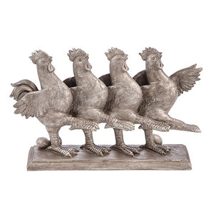 Dancing Roosters, Kitchen + Dining, Thompsons Vintage Treasures Thompsons Vintage Treasures