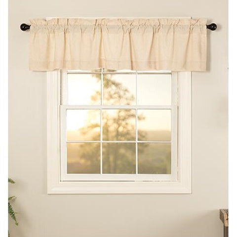 Simple Life Natural Valance