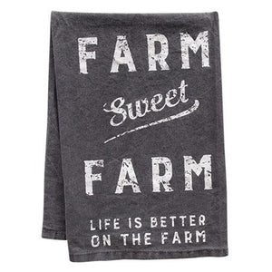 Farm Sweet Farm Dish Towel, Kitchen + Dining, Thompsons Vintage Treasures Thompsons Vintage Treasures