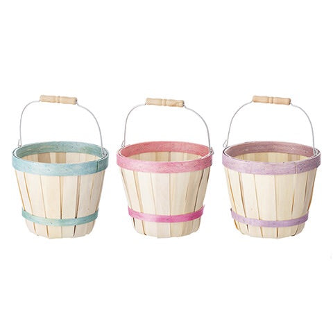 Spring Bushel Baskets, Set/3