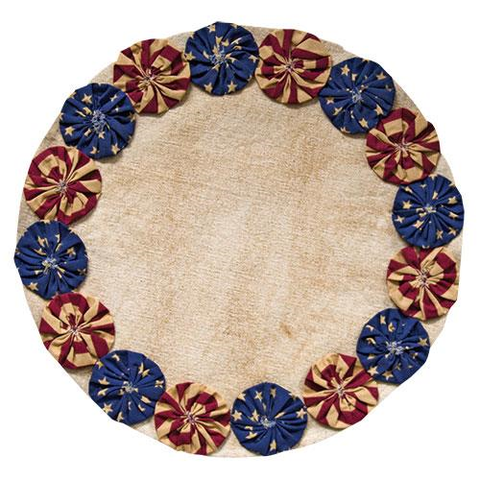 Americana Candle Placemat