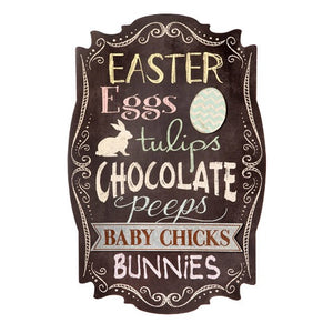 Easter Chalkboard Sign, Holiday + Seasonal Decor, Thompsons Vintage Treasures Thompsons Vintage Treasures