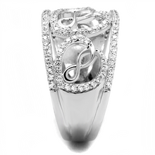 Load image into Gallery viewer, Sterling Triple Infinity Heart Ring