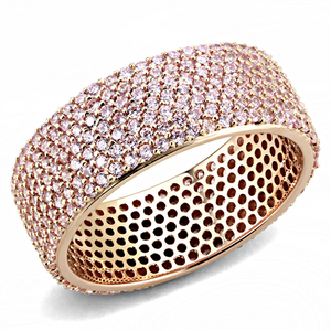 Rose Gold Eternity Band - Thompsons Vintage Treasures