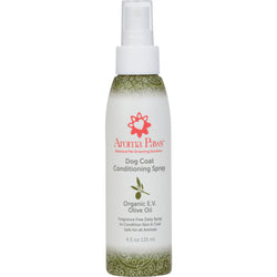 Olive Oil Detangling Dog Coat Spray (4.5 oz)