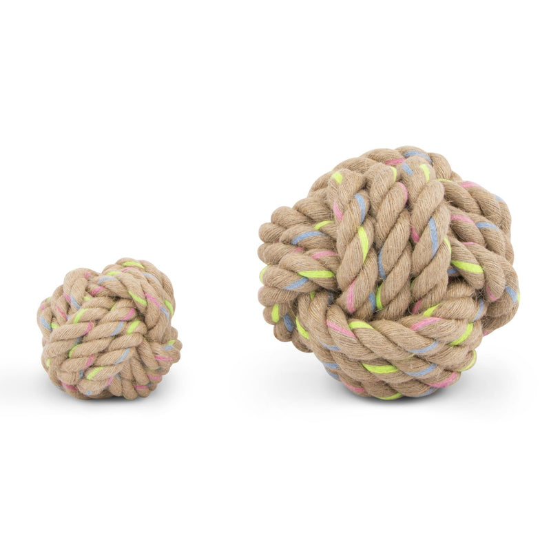 Jute Knotted Rope Dog Toy