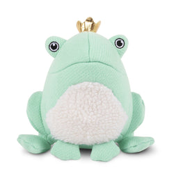 Frog Prince Plush Dog Toy