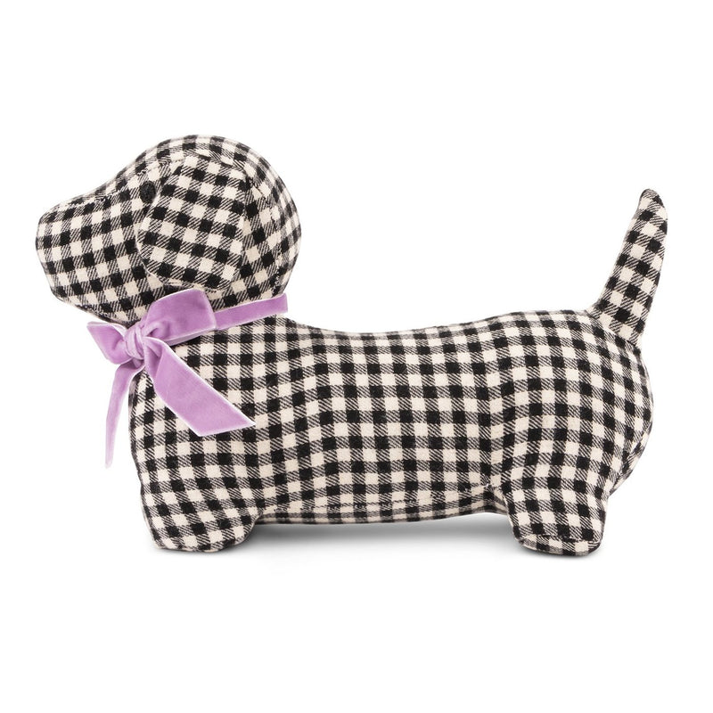 Gingham Hound Plush Dog Toy
