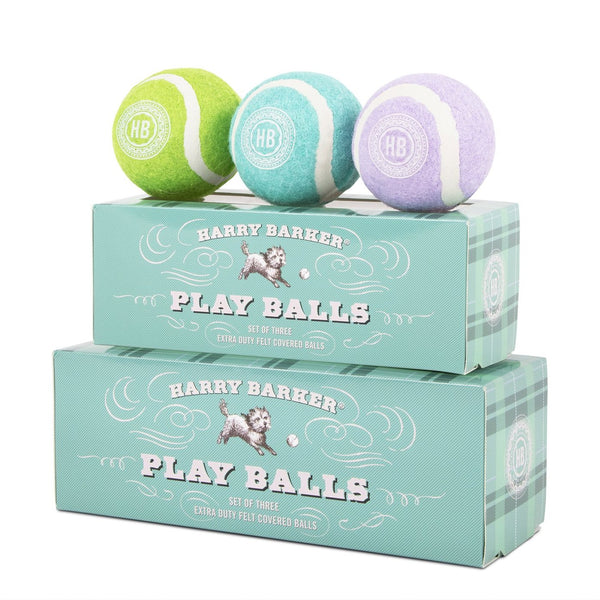 Garden Dog Play Balls Box Set