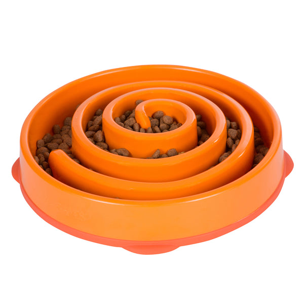 Fun Feeder Slo-Bowl - Orange Small