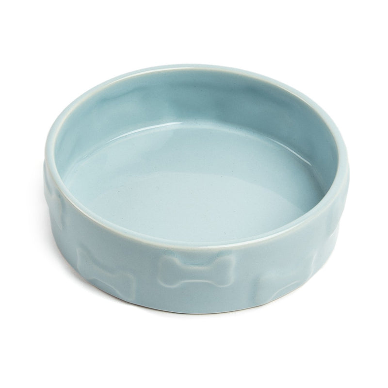 Manor Blue Pet Bowl
