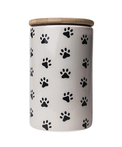 Pawz Grey Treat Jar